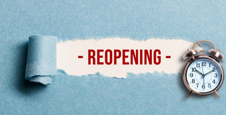 CA NPO's Reopening