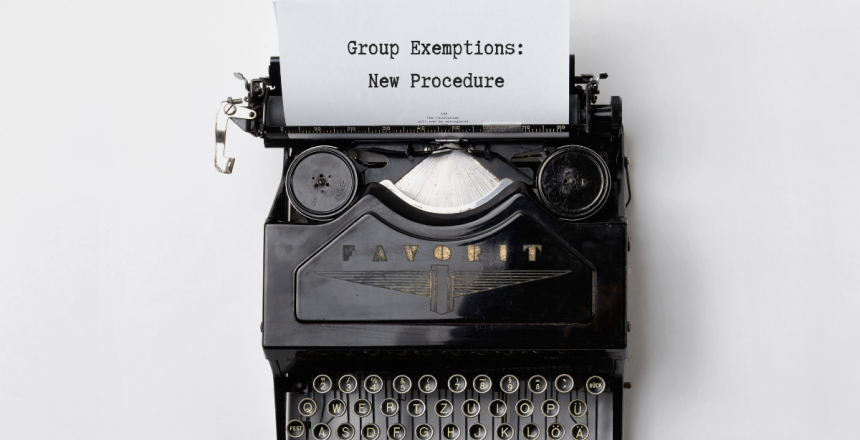 Group Exemptions
